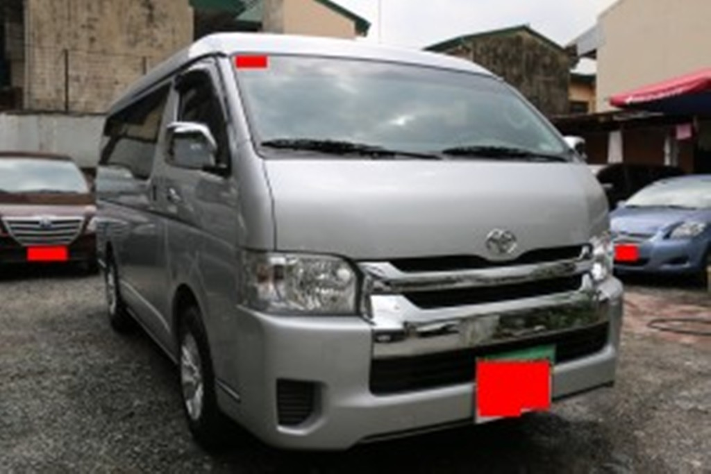 Car Rental Manila Ph 2014 Toyota Hiace Gl Grandia At